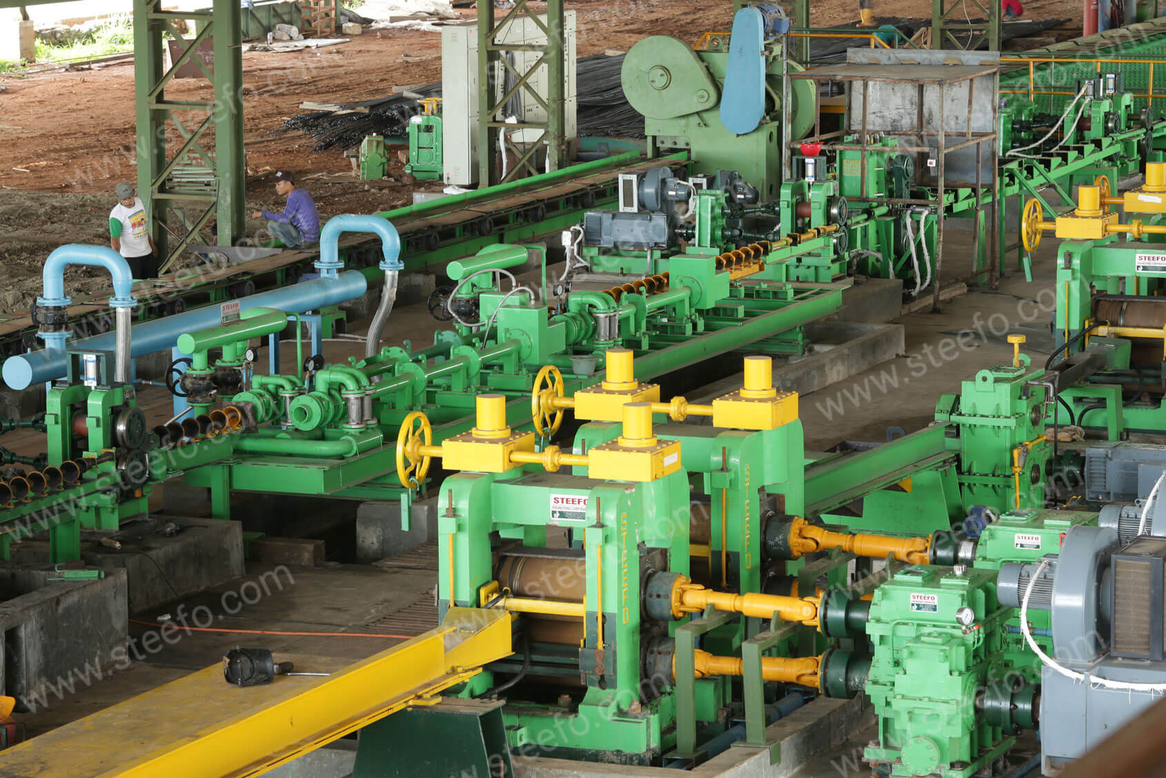 Steel Rolling Mill : Tmt bars rolling mill manufacturer exporter of steel